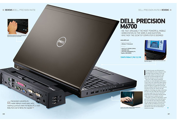 Workstation Dell Precision M6700